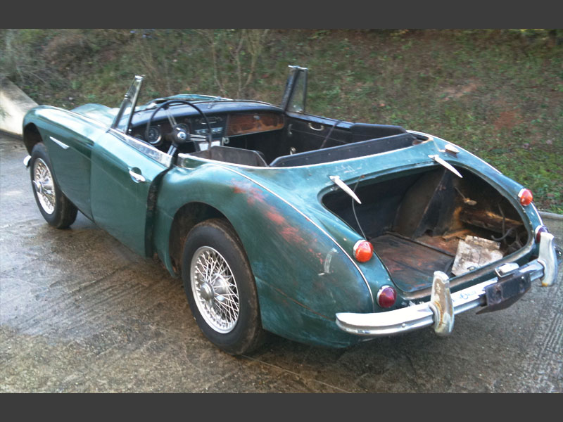 restauration de l austin healey le blog de roadster concept. Black Bedroom Furniture Sets. Home Design Ideas